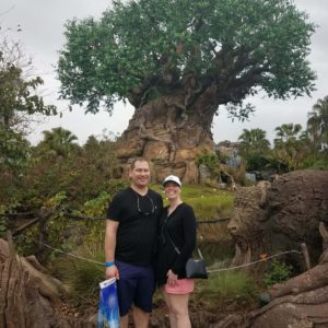 Enjoying Animal Kingdom at Disney World
