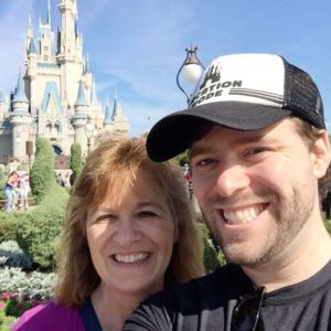 You're never too old to trick your mother into taking you to Disney World! (We had a great time.)