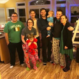 Christmas in the Outer Banks is a biannual tradition with Matthew's side of the family. They're excited to welcome a new addition to the family!