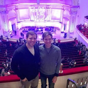 Matthew surprised Ryan with tickets to see Tituss Burgess (who was great!) at Carnegie Hall for Valentine's Day.