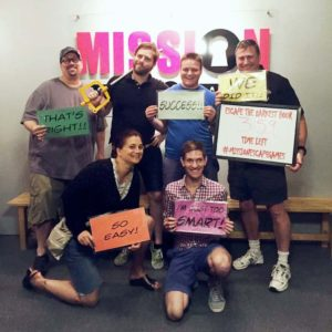 We escaped with time to spare! (It was close.)