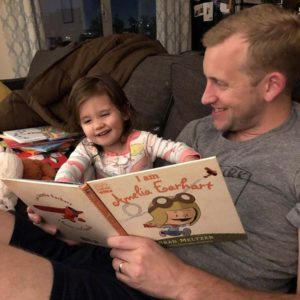 Bedtime stories with Dad