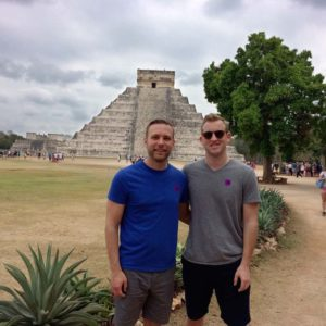 Traveling to Chichen Itza in Mexico