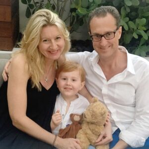 The three of us (and some bears) in Miami, Florida