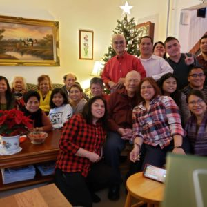 Christmas with Peter's family in Brooklyn, NY